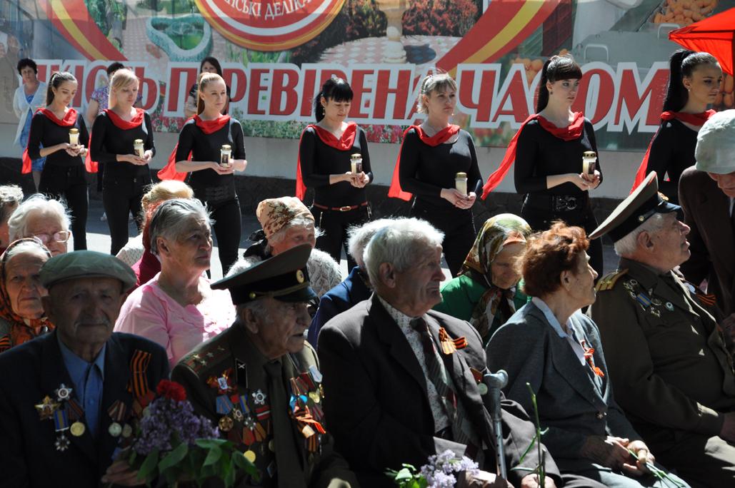 Праздник в честь Дня Победы на Луганском мясокомбинате