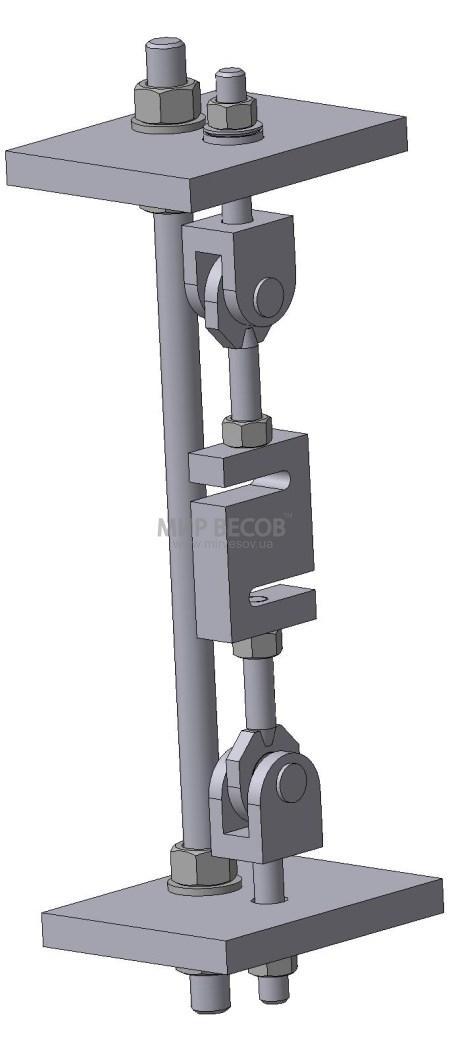 Узел встройки датчика Н3 на растяжение (производство Украина)