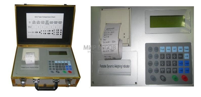 Весопроцессор М2 для подкладных и поосных весов