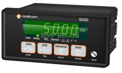 Весодозирующий контроллер Rinstrum 5000