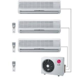 Мульти сплит-система LG M30L3H (Корея)