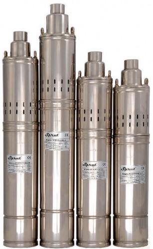 Шнековый насос SPRUT 4S QGD 1,2-50-0.37kW