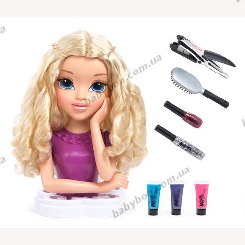 Кукольная голова для причесок и макияжа