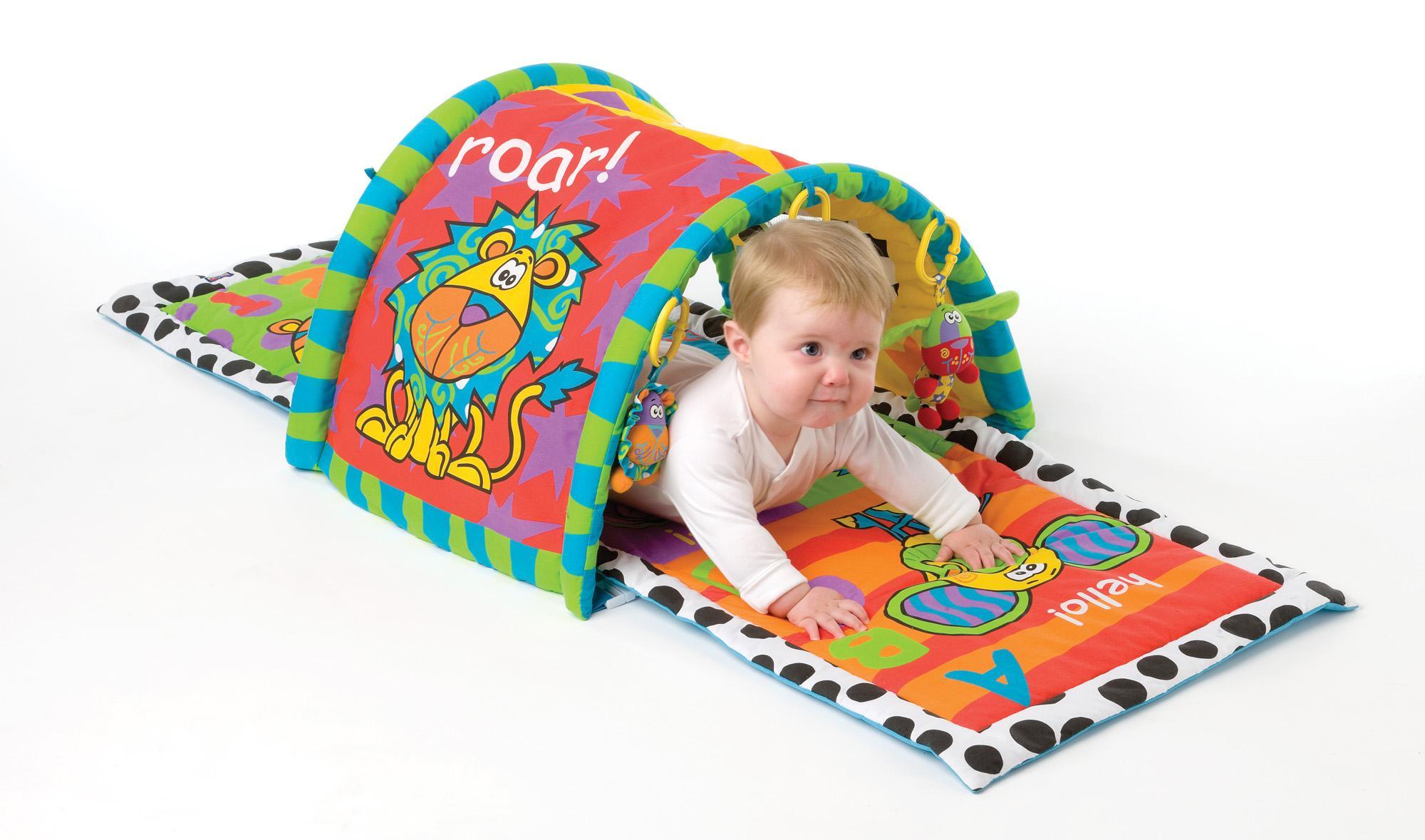 Как сделать туннель для малыша
