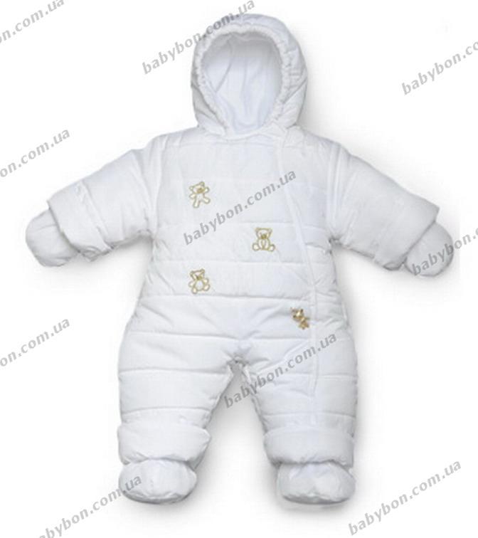 Детский зимний комбинезон для новорожденных Модный карапуз