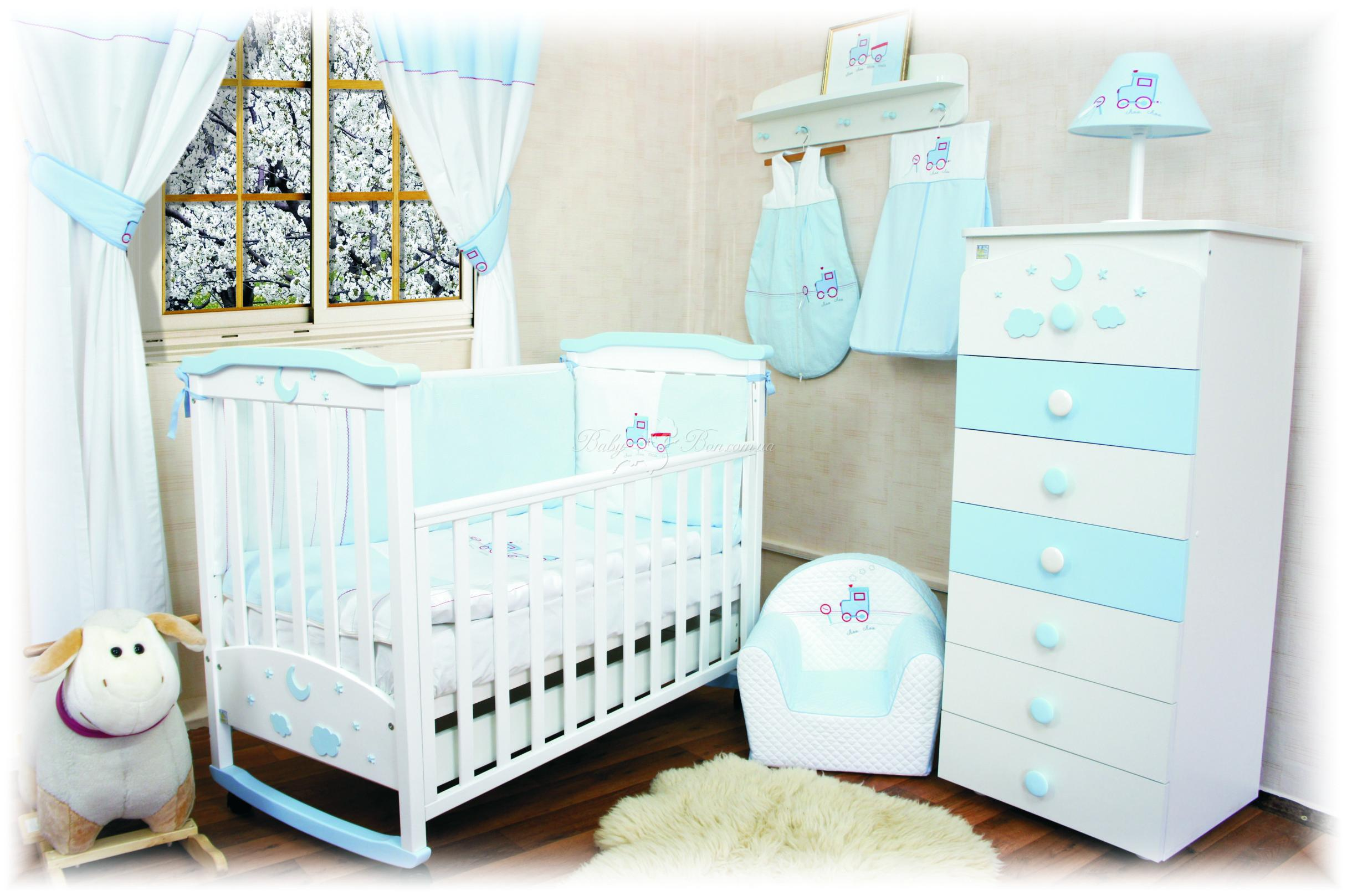 Детская кроватка для новорожденного своими руками