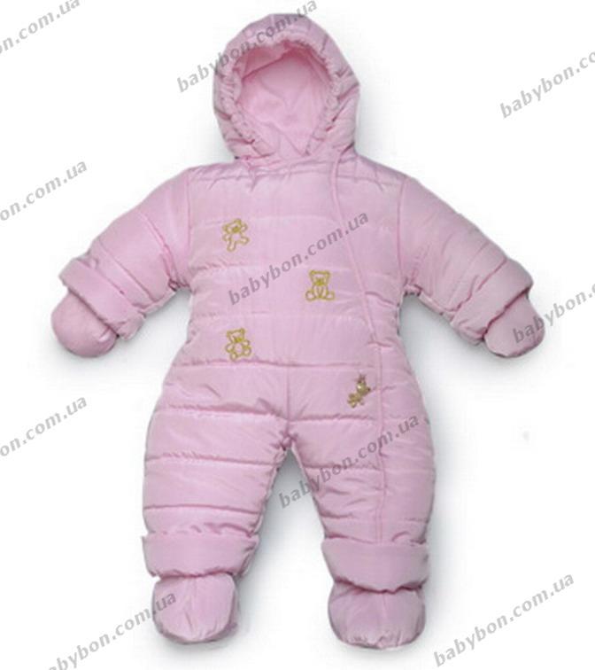 2cd912d67a50 Детский зимний комбинезон для новорожденных Модный карапуз