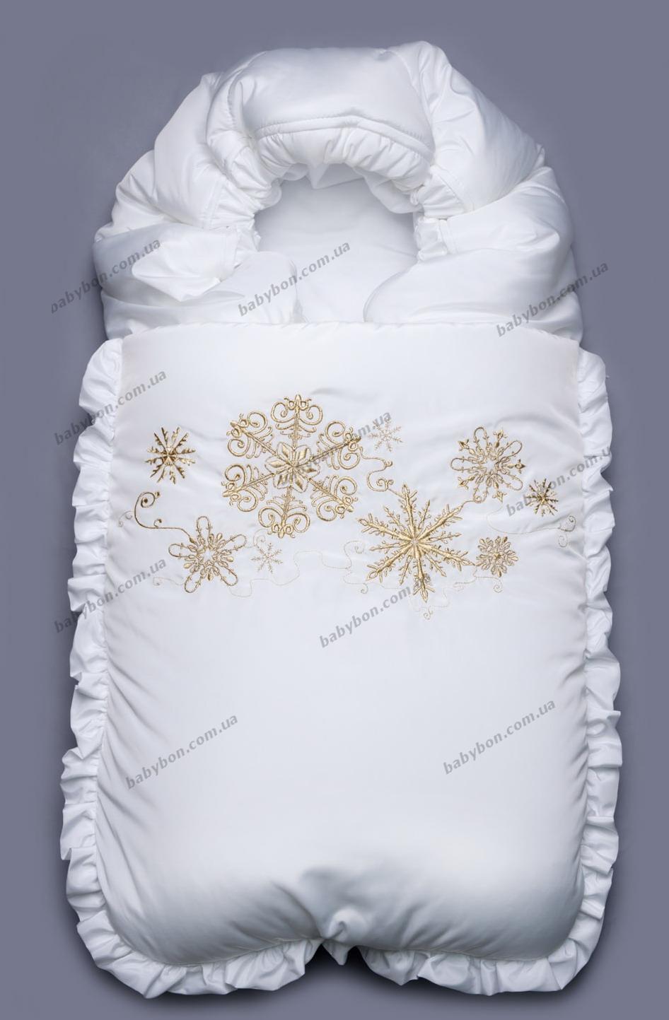 Конверт меховой для новорожденных сшить