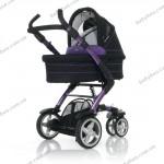 Универсальная коляска 2 в 1 ABC Design 3 Tec (purple-black)