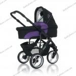 Универсальная коляска 2 в 1 ABC Design Cobra (purple-black)