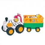 Развивающая игрушка на колесах «САФАРИ-ДЖИП» (со светом и звуком)