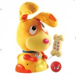 Озвученная игрушка «МОЯ ПЕРВАЯ СОБАКА МАКС» (русский язык)