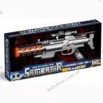 Водный пистолет - СО СВЕТОМ И ЗВУКОМ (моторизованный, 4 выстрела в сек.)