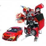 Робот-трансформер - MITSUBISHI LANCER EVOLUTION IX (1 12)