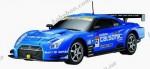 Автомобиль радиоуправляемый - 2008 NISSAN GT-R SUPER GT (синий, 1 16)