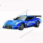 Автомобиль радиоуправляемый - 2008 NISSAN GT-R SUPER GT (синий, 1 28)