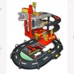 Игровой набор - ГАРАЖ FERRARI (3 уровня, 2 машинки 1 43)