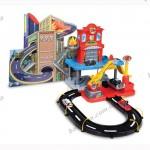 Игровой набор - ГАРАЖ Пожарная станция (2 уровня, 2 машинки, действующий пожарный кран, 1 43)