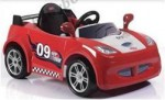 Детский электромобиль Geoby LW801Q (красный)