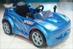 Детский электромобиль Geoby LW801Q (синий)