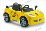 Детский электромобиль Geoby LW801Q (желтый)