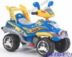 Детский электромобиль Geoby LW830 (синий)
