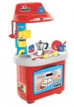 Звуковой игровой набор «Кухня - Биалетти Мукка (80 см, в наборе 12 аксессуаров)