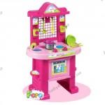 Игровой набор для юной хозяюшки «Кухня для принцессы» (70 см, в наборе 11 аксессуаров)