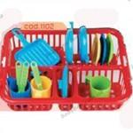 Набор посуды для юных хозяюшек «ЛОТОЧЕК ДЛЯ СУШКИ»