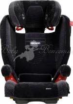 Детское автокресло RECARO Monza SeatFix (Microfibre black-aquavit)