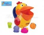 """Игрушка для ванной Ks Kids """"Голодный пеликан"""" (пластик)"""