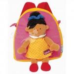 Мягкий рюкзак Ks Kids с игрушкой Барбарой