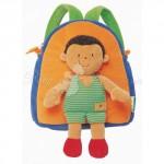 Мягкий рюкзак Ks Kids с игрушкой Майклом