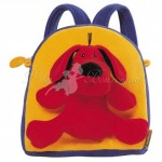 Мягкий рюкзак Ks Kids с игрушкой Собакой