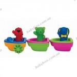 Три лодочки для ванны на магнитах Ks Kids