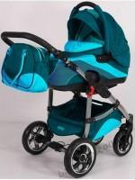 Детская универсальная коляска 2 в 1 Tako Ingis Go - цвет 09 (варианты комплектации - стальная или алюминиевая рама, надувные или пластиковые колеса)