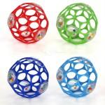 Мяч OBall с погремушкой (цвета в асс)