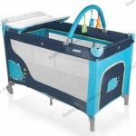 Детский манеж-кроватка Baby Design DREAM 2013 (05 голубой)