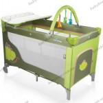 Детский манеж-кроватка  Baby Design DREAM 2012 (04 -Dino зеленый)