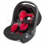 Детское автокресло Kiddy Relax Pro (microvelvet Black-Red)