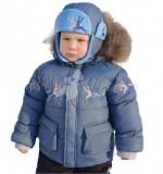 Зимний детский костюм-комбинезон  Baby Line 2012  на синтепухе и флисе  (размеры 86-110)