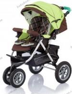 Прогулочная коляска Capella S901 Play с конвертом 2012 (зеленый)