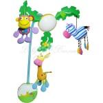 """Музыкальный мобиль  """"Пальмовое дерево"""" Biba Toys c LED-подсветкой"""