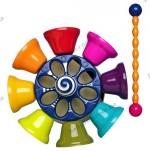 Музыкальная игрушка Battat  Цветные колокольчики