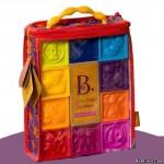 Развивающие силиконовые кубики Battat ПОСЧИТАЙ-КА! (10 кубиков, в сумочке)