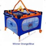Детский  манеж-кровать ARTI Luxury Home Winner Orange Blue