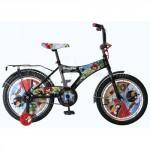 Детский 2-колесный  велосипед  DISNEY ANGRY BIRDS (диаметр колеса 18 дюймов)  Черный