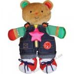 Развивающая игрушка  Ks Kids  Мишка Учимся одеваться