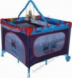 Детский  манеж-кровать ARTI Luxury Home Winner  NEW  Blue Brown