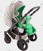 Коляска Tutis Zippy Sport Lennen 3 в 1 (цвет 402 серо-зеленый)